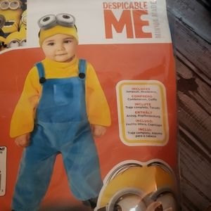Despicable me  Minion Bob toddler 3T4T costume